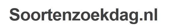 Soortenzoekdag.nl